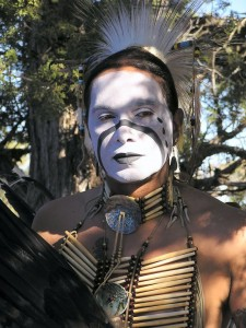 The Irish, Comanche and Cherokee Micki Free, a Native American musician.